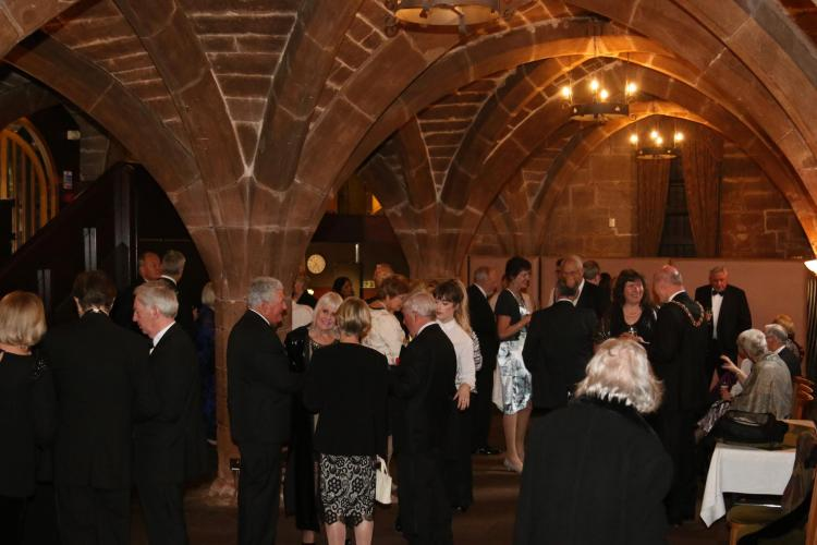 The Reception at St Mary's Guildhall